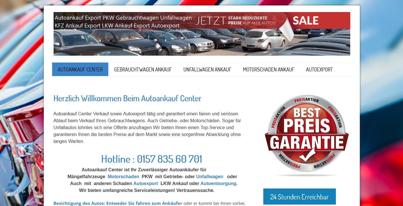Autoankauf Albstadt