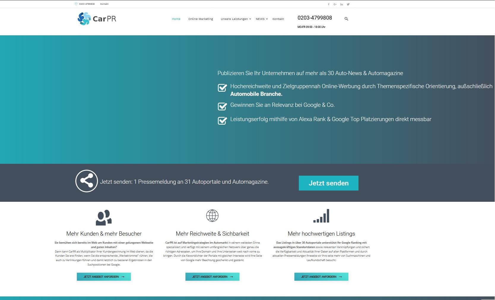 Online Marketing Autohaus