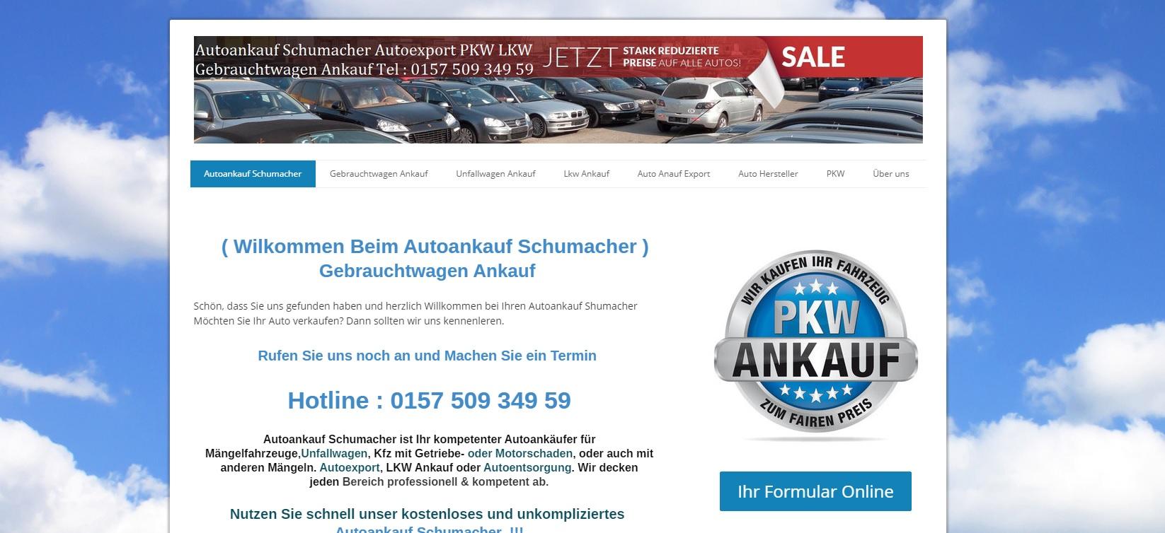autoankauf-schumacher.de - Autoankauf Schwerin