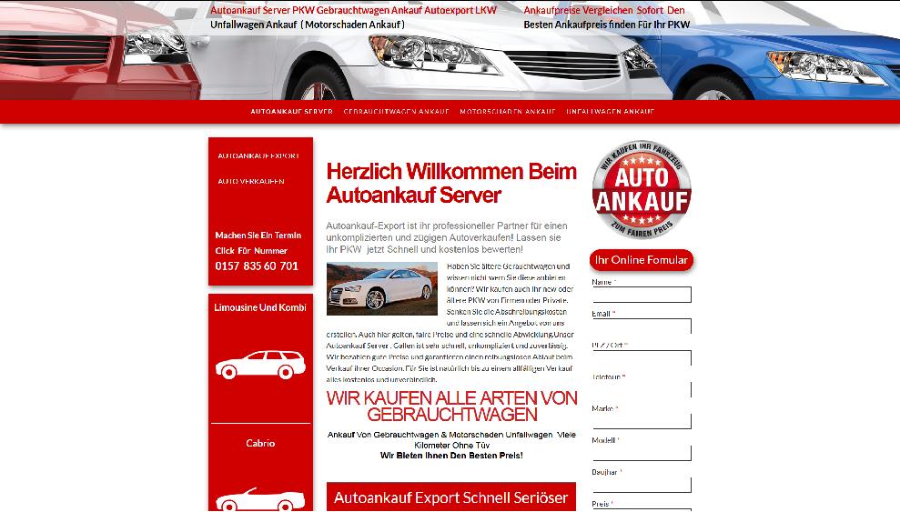 Autoankauf-Server.de | Autoankauf Bamberg | Autoankauf Export Bamberg