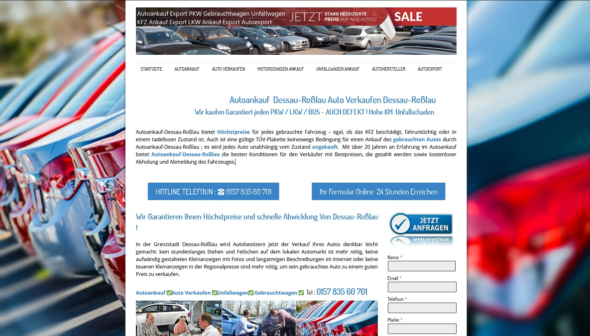 Autoankauf-Schnell.de   Autoankauf Dessau-Roßlau   Autoankauf Export Dessau-Roßlau